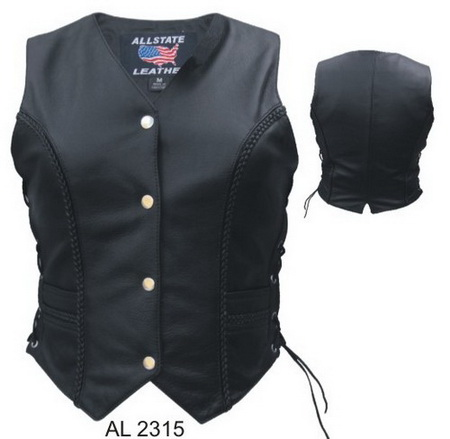 Ladies braid Vest